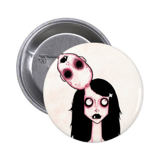 Deadhead Pinback Button