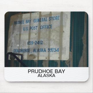 Deadhorse Alaska postal sign mousepad