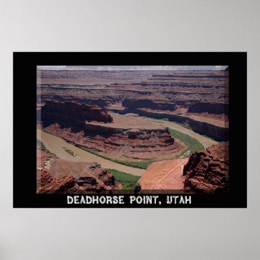 Deadhorse Point Poster