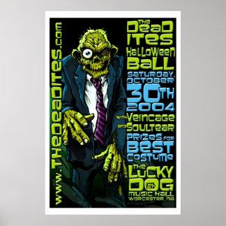 Deadites Halloween Ball Poster