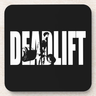 Deadlift - Gym Motivation Drink Coaster