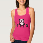 Deadlift Panda Bear Tank Top