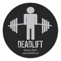 Deadlift Sticker
