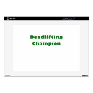 """Deadlifting Champion Skins For 15"""" Laptops"""
