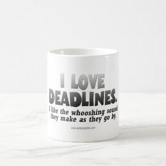 Deadlines... Coffee Mug