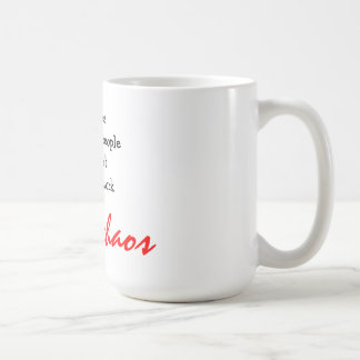 deadlines imposed by people coffee mug