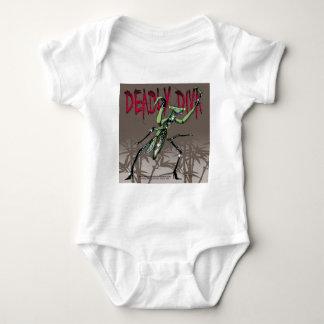 Deadly Diva Baby Bodysuit