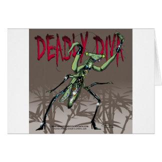 Deadly Diva Card