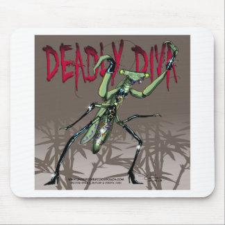 Deadly Diva Mousepad