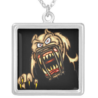 Deadly Dog Personalized Necklace