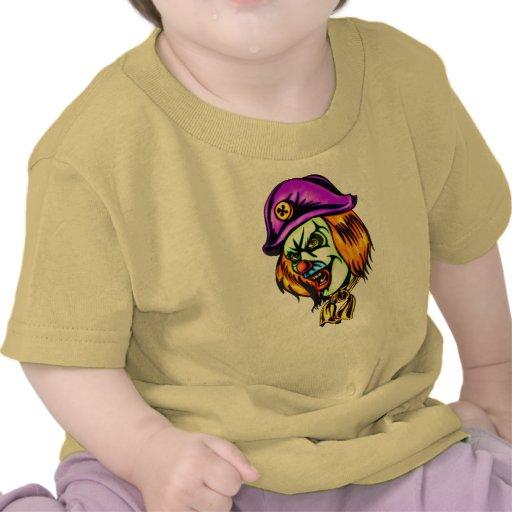 Deadly Evil Clown T Shirts