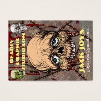 DEADLY GRAPHIC STUDIO.COM JACK JOYA CARD