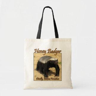 Deadly, Insane, Ferocious Honey Badger Bag