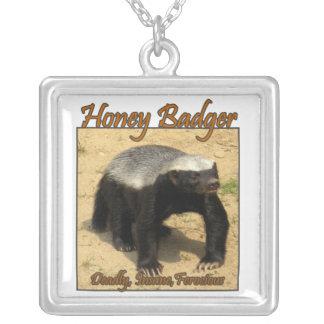 Deadly, Insane, Ferocious Honey Badger Necklace