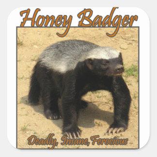 Deadly, Insane, Ferocious Honey Badger Sticker