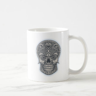 Deadly Love Skull Coffee Mug