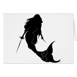 Deadly Mermaid Card