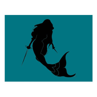 Deadly Mermaid Postcard