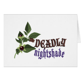 Deadly Nightshade Card