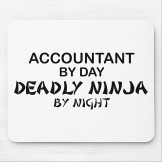 Deadly Ninja by Night - Accountant Mouse Pad