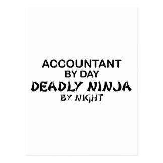Deadly Ninja by Night - Accountant Postcard