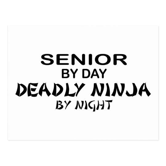 Deadly Ninja by Night - Senior Postcard