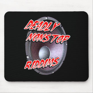deadly nonstop riddims dub reggae Dubstep Mouse Pad