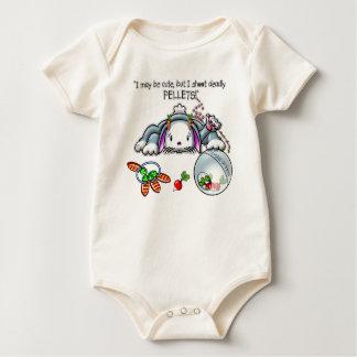 DEADLY PELLETS! BABY BODYSUIT