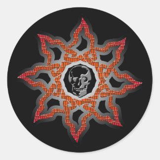 Deadly Sun 2 Classic Round Sticker