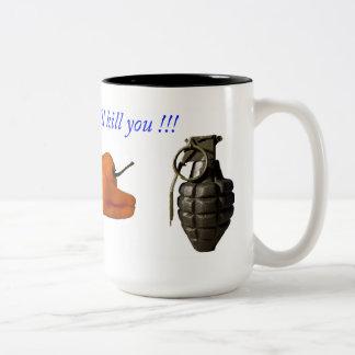 Deadly Things Two-Tone Coffee Mug