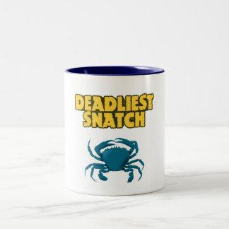 Deadly Two-Tone Coffee Mug