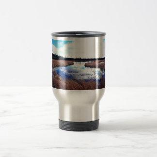 Deadman Lake in Summer 15 Oz Stainless Steel Travel Mug