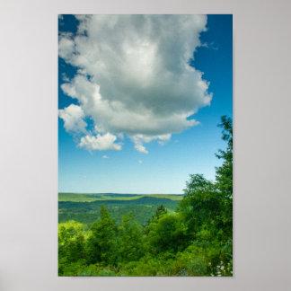 Deadman's Hill Overlook, Michigan Poster