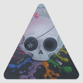 Deadmen Triangle Sticker