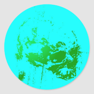 DeadPlanet - Custom Round Stickers