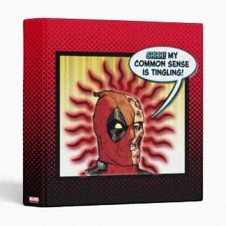 Deadpool Common Sense 3 Ring Binder