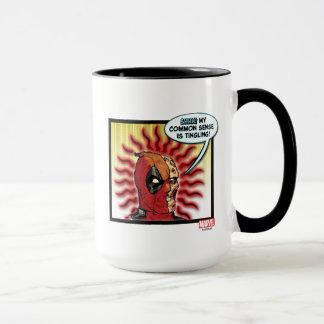 Deadpool Common Sense Mug