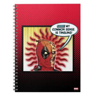 Deadpool Common Sense Notebook