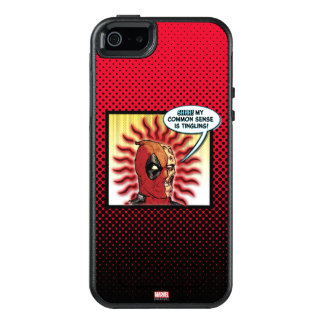 Deadpool Common Sense OtterBox iPhone 5/5s/SE Case