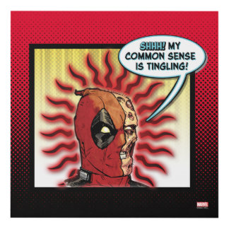 Deadpool Common Sense Panel Wall Art