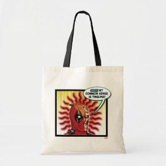 Deadpool Common Sense Tote Bag
