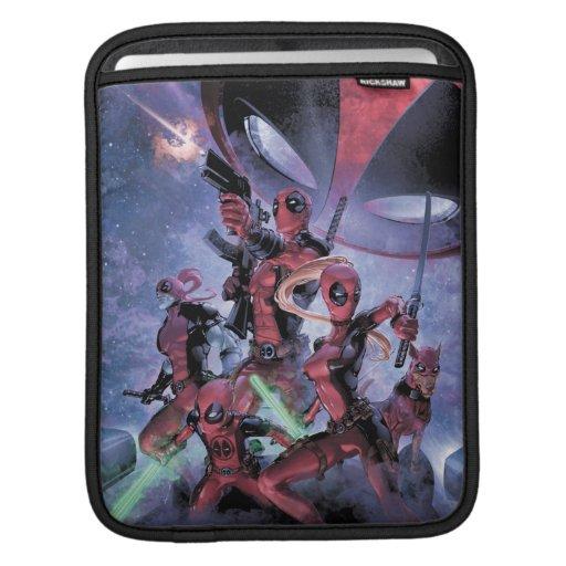 Deadpool Corps In Space iPad Sleeve