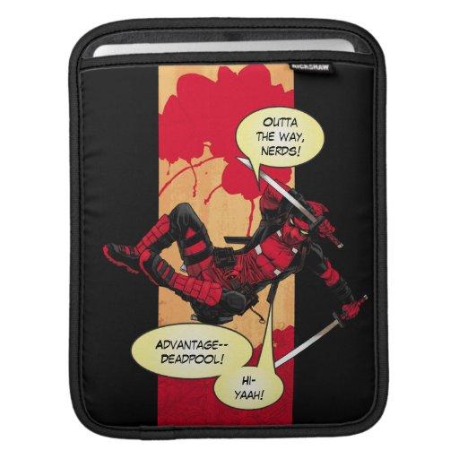 Deadpool Descending iPad Sleeve