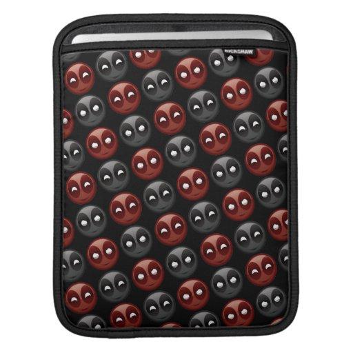 Deadpool Emoji Icons iPad Sleeve
