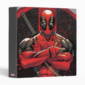 """Deadpool en logotipo de la salpicadura de la carpeta 1"""""""