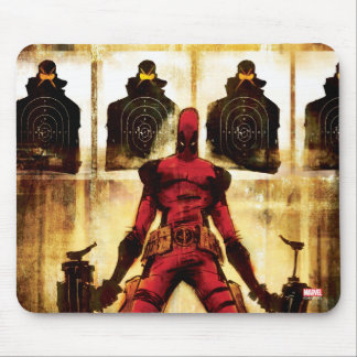 Deadpool Firing Range Mouse Pad