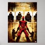 Deadpool Firing Range Poster