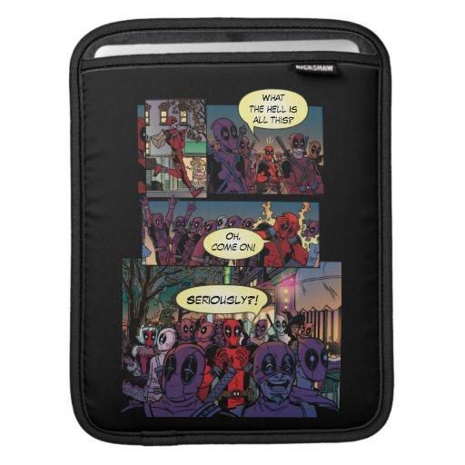 Deadpool Halloween iPad Sleeve