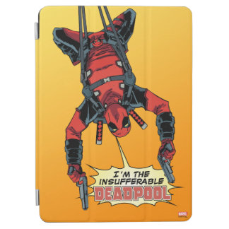 Deadpool Hanging From Harness iPad Air Cover