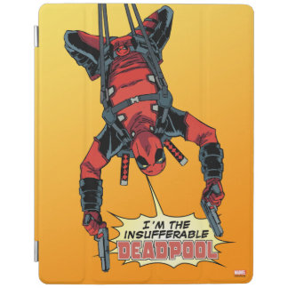 Deadpool Hanging From Harness iPad Smart Cover